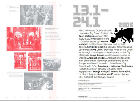 Group Exhibition – Presentation of Young European Architects' Offices / 2004-2007