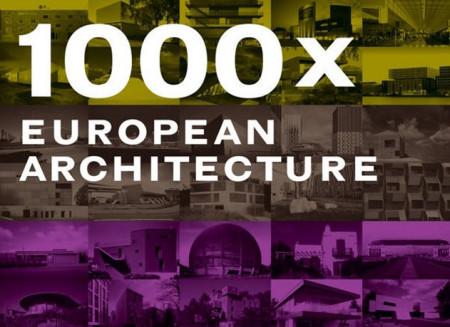 Book '1000 x european architecture' / 2006