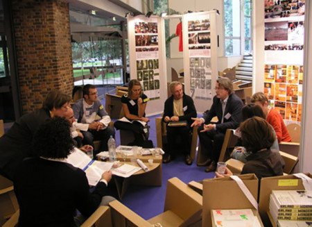 Presentation and workshop at the international meeting of young architects / 2006