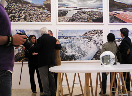 Group Exhibition – 1st Biennial Architecture of the Canaries – diving club concept / 2009