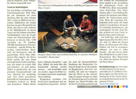 Kölner Stadt-Anzeiger / 2011