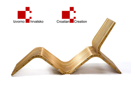 Prize 'Originally Croatian' for 'boomerang' interactive furniture
