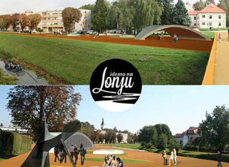 Lecture: Vision of Walking Trail along Lonja River / 2012