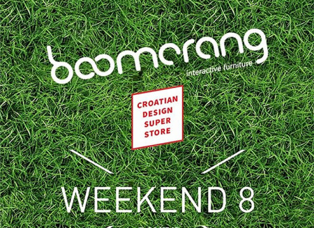 Exhibition of boomerang at 8th Weekend Media Festival / 2015