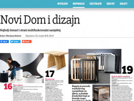 Jutarnji list–《Home&Design》杂志/ 2016
