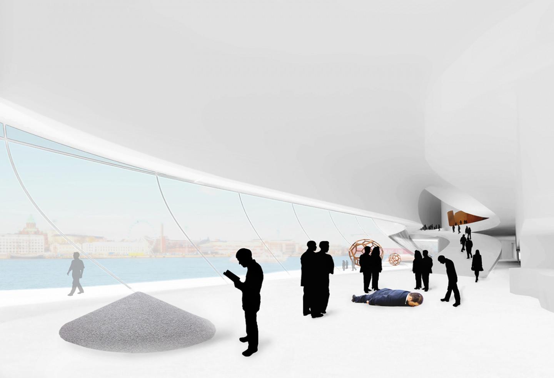 Guggenheim museum Helsinki • ground floor