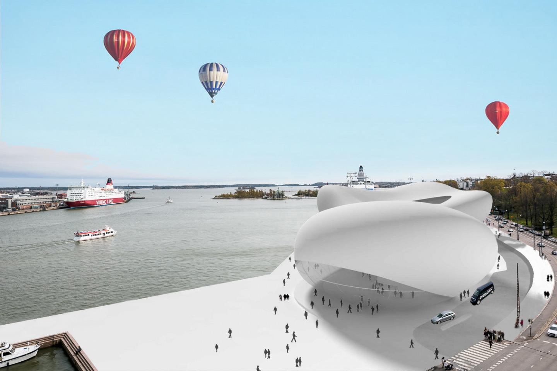 Guggenheim museum Helsinki • on the waterfront