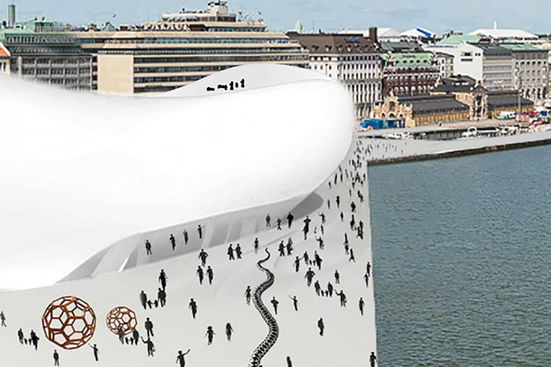 Guggenheim museum Helsinki • roof surface