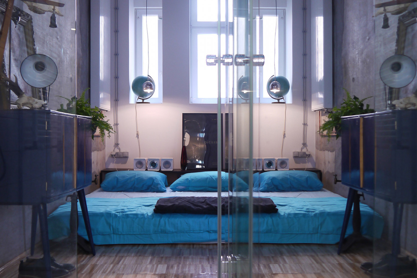 Loft T in Zagreb • bedroom