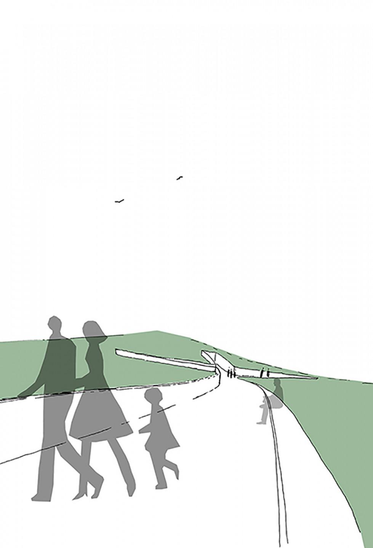 Lovas memorial • idea sketch