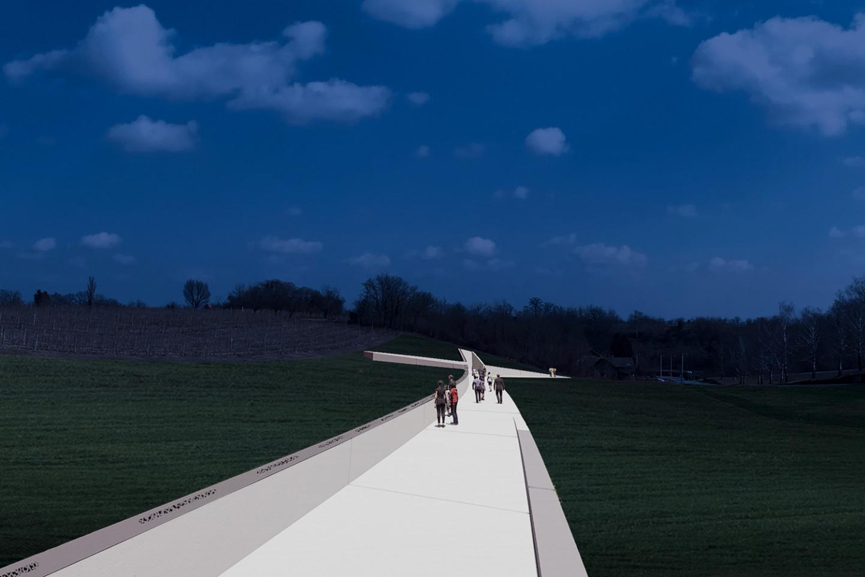 Lovas memorial • night 3D