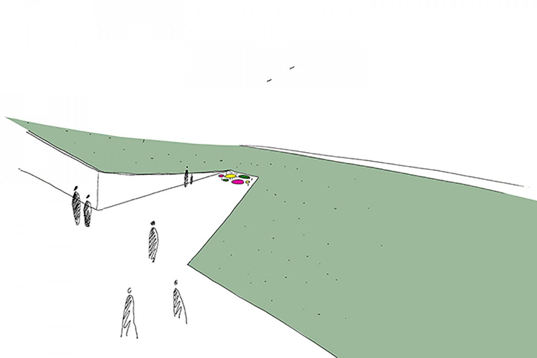 Lovas memorial • sketch