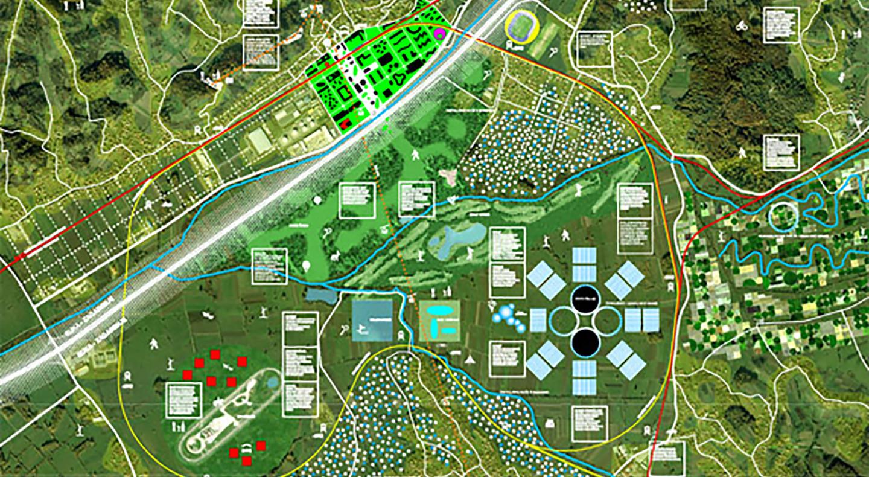 center Zabok • a self-sustaining garden city