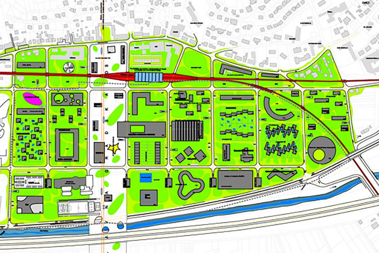 center Zabok • ground plan