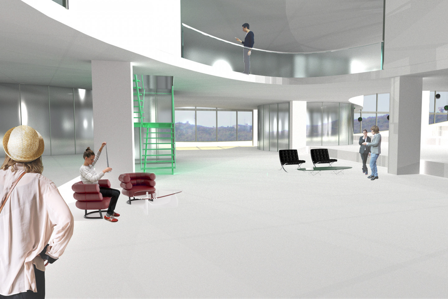 science park Vucevica • lobby
