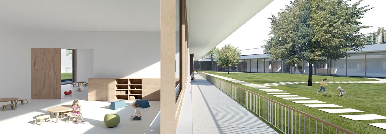 preschool Brezovica • inside and outside