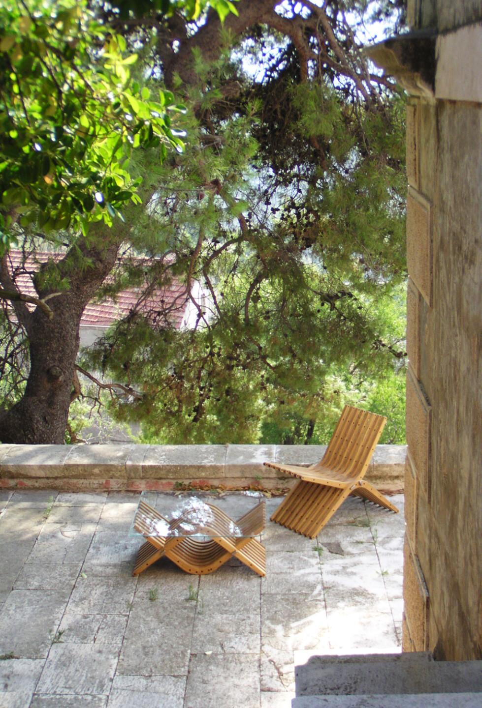 boomerang • at the terrace of an old villa