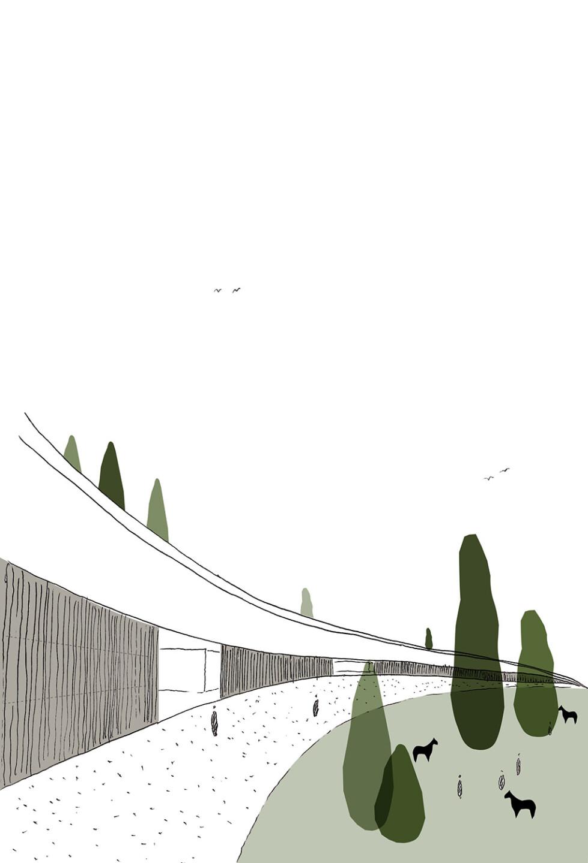 Korana • hippodrome sketch