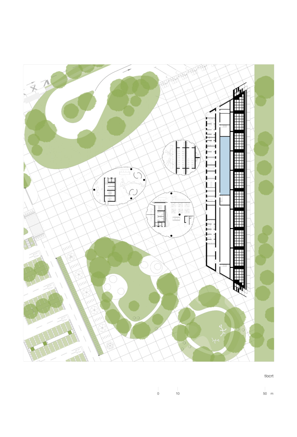 Visitor center Lozovac • ground plan